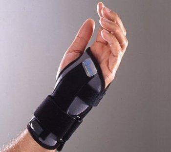 Orthèse / attelle d'immobilisation du poignet tour de poignet de 13 à 16 cm
