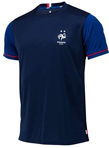 Equipe de France de Football Maillot FFF - Collection Officielle Taille Enfant garçon 8 Ans