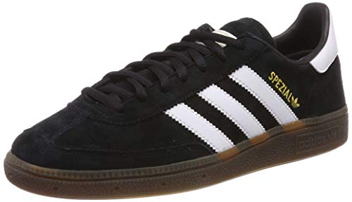 adidas Handball Spzl, Chaussures de Gymnastique Homme, Nero Core Black/FTWR White/Gum5, 44 EU