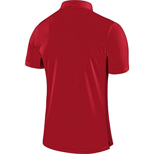 Nike Academy18 Polo d'entrainement Homme, University Red/Gym Red/(White), FR : M (Taille Fabricant : M)