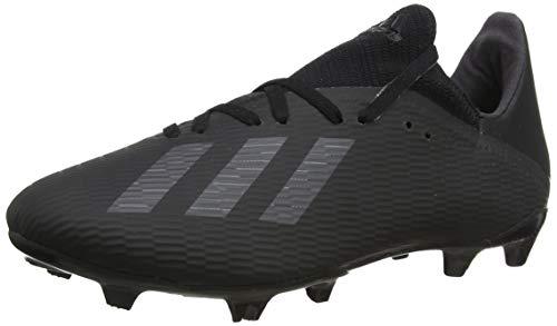 adidas X 19.3 FG, Chaussures de Football Homme, Noir Core Utility Black/Silver Met, 44 EU