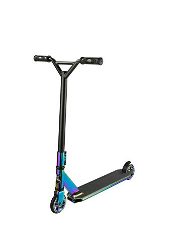 Ridge XT200 Pro Spin 360 Freestyle Stunt Scooter - Neochrome Demi