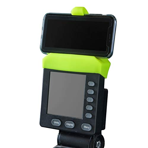 Vapor Fitness Support pour Smartphone en Silicone pour rameur Concept 2, SkiErg et BikeErg