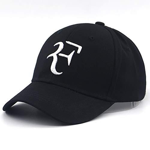 TTXSKX Tennis Star Roger Federer Casquette De Baseball Katoen 3D Borduren F Snapback Hoed Tennis Casquettes Décontractées Voor Reizen Tennis Hoeden