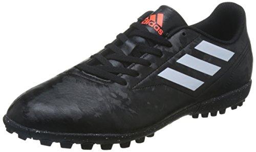 adidas Conquisto II TF, Chaussures de Football Homme, Noir (Cblack/Ftwwht/Solred Bb0560), 40 EU