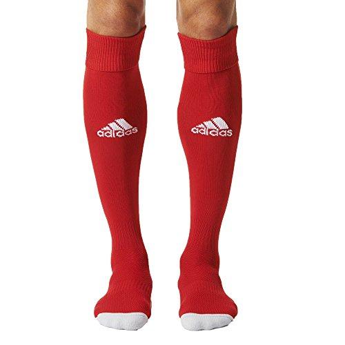 Adidas AJ5906 Chaussettes Homme, Multicolore (Rouge/Blanc), 43-45 EU