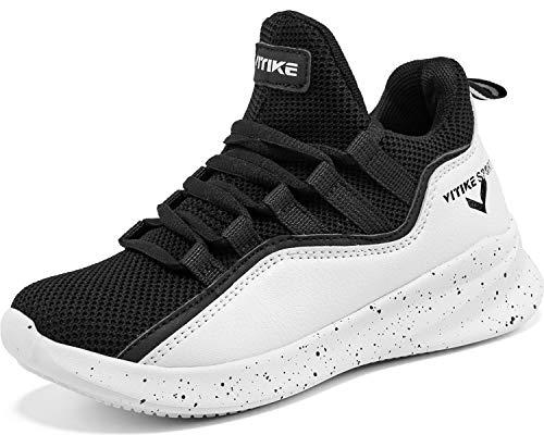 Chaussures de Sport Garçon Basket-Ball athlétique Sneakers Chaussures d'extérieur Chaussure de Course Running