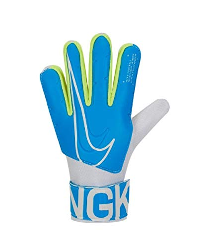 Nike NK GK Match JR-FA19 Gants de Foot Mixte Enfant, Blue Hero/White, FR : 2XL (Taille Fabricant : 8)