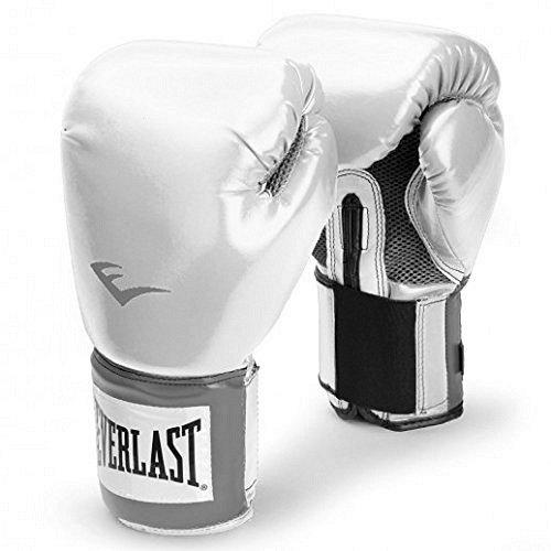 Everlast Pro Style Pu Pro Bag Gloves Gants de boxe Blanc 12oz