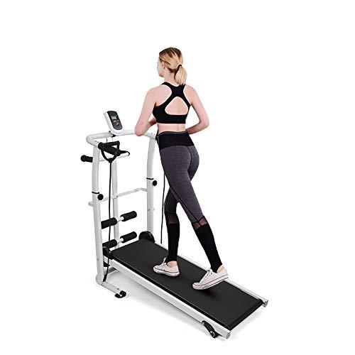 YIFAA Tapis de Course Pliable pour Marche, Jogging et Fitness, 145x54x110cm