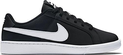 Nike Court Royale, Bas femme - Noir (Black/White 010), 38.5 EU
