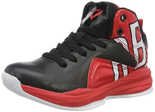 Garçon Chaussures de Basketball Mixte Enfant Fille Baskets Mode Sneakers, 1-rouge, 44 EU