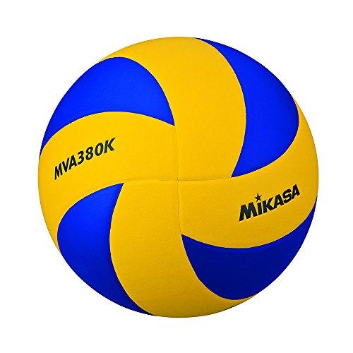 Mikasa MVA-380K ballon de volley Mixte Adulte, Bleu, 5