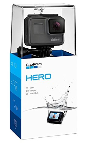 GoPro Hero (2018) - Caméra d'action étanche - noir