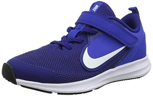 Nike Downshifter 9 (PSV), Chaussures d'Athlétisme Mixte Enfant, Noir (Black/White/Anthracite/Cool Grey 000), 32 EU