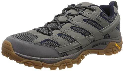 Merrell Moab 2 Gore-tex, Chaussures de Randonnée Basses Homme, Gris (Charcoal), 45 EU