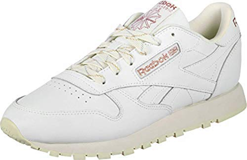 Reebok Classic Leather, Chaussures de Running Mixte adulte, Noir, 50 EU