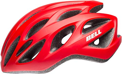 Bell Mixte - Adulte Tracker R Casque de vélo Mat Rouge/Noir Taille Unique
