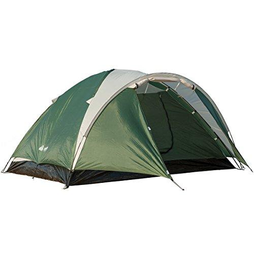 SEMOO imperméable 3 Saisons Tente de Camping familiale 3-4 Personnes, Double Couches Tentes dôme