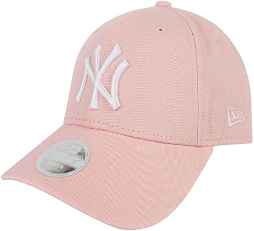 New Era New York Yankees Essential 9 Forty Casquette Femme, Rose, FR (Taille Fabricant : OSFA)