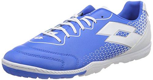 Lotto Spider 700 XV TF Chaussures de Futsal Homme, Bleu (Blu ATL/WHT 010) 43 EU