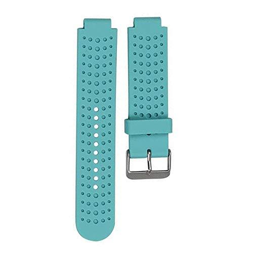 Bracelet Silicone de Rechange pour Garmin Forerunner 235 735 220 230 235 630 620, Watch Band Flexible en Silicone avec des Outils pour Forerunner 235 Smartwatch