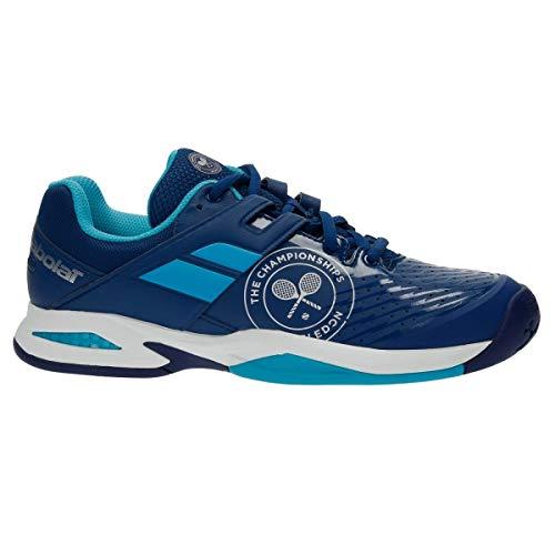Babolat Chaussures Junior Propulse AC Wimbledon 33s17553 bleu-36.5
