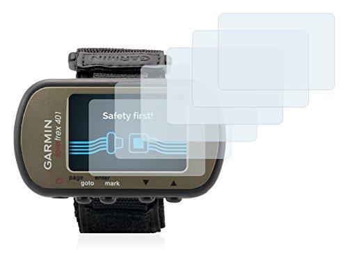 Savvies Film Protection d'écran pour Garmin Foretrex 401 [6 Pièces] - Ultra Clair
