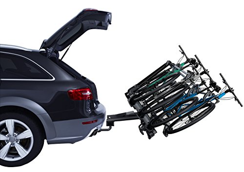 Thule 927 velocompact 4 Vélo Transporteur Support Barre d'attelage Attache inclinable de verrouillage