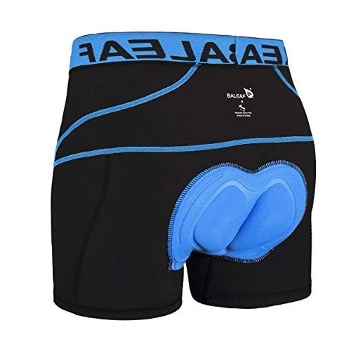 Baleaf Caleeçon de Cyclisme Avec Peau Pour Homme Bleu Taille XL