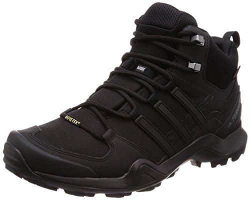 adidas Terrex Swift R2 Mid GTX, Chaussures de Randonnée Basses Homme, Noir (Negbas 000), 43 1/3 EU