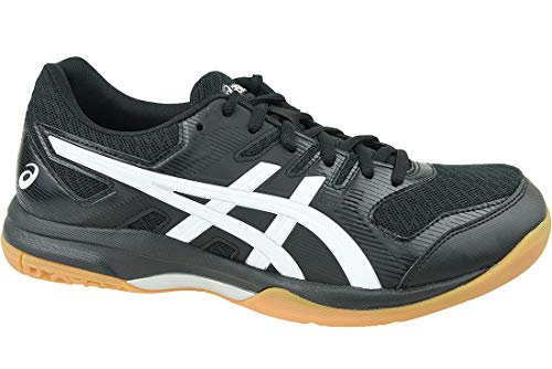 Asics Gel-Rocket 9, Indoor Court Shoe Mens, Black/White