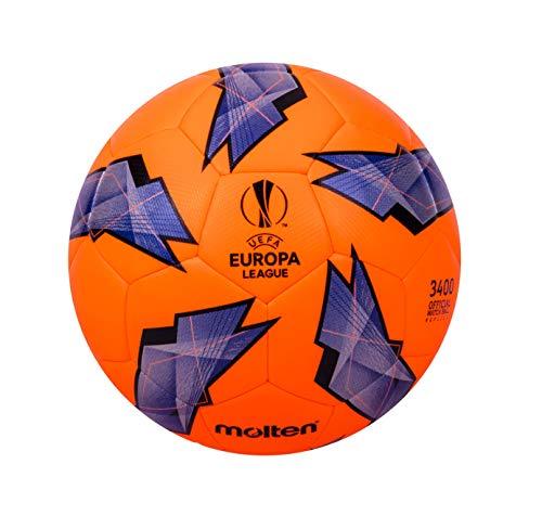 Molten Réplique Officielle de la UEFA Europa League-3400 Ballon de Match Size 5 Violet