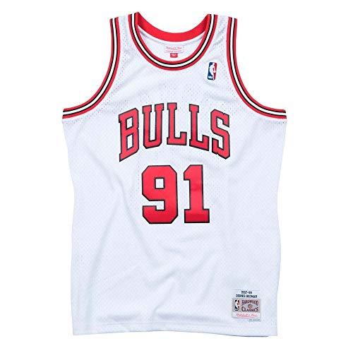 Mitchell & Ness Chicago Bulls Dennis Rodman Débardeur White