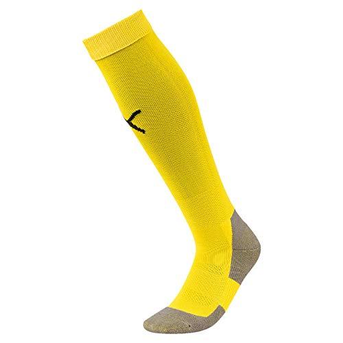 Puma - 703441 - Chaussettes de football - Homme - Jaune (Cyber Jaune/Puma Noir) - FR : 31-34 (Taille Fabricant : 1)