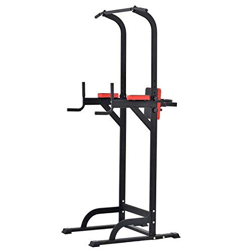Pullup Fitness Barre de Traction Ajustable Station Musculation Dips Station Chaise Romaine