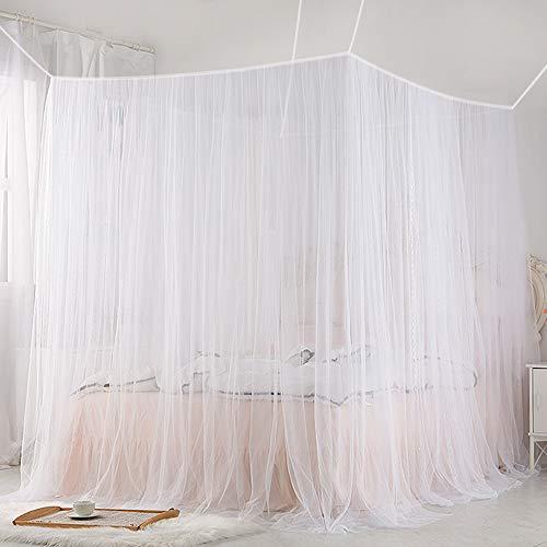 Trounistro Moustiquaire, Moustiquaire de lit Grand Moustiquaire Écran de Protection Anti-Insectes Moustiquaire Filet pour Lit Double anti-moustique-Insectes