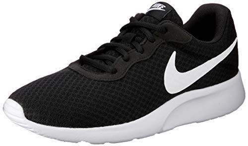 Nike Tanjun, Baskets Homme, Noir (Black/White 011), 42 EU