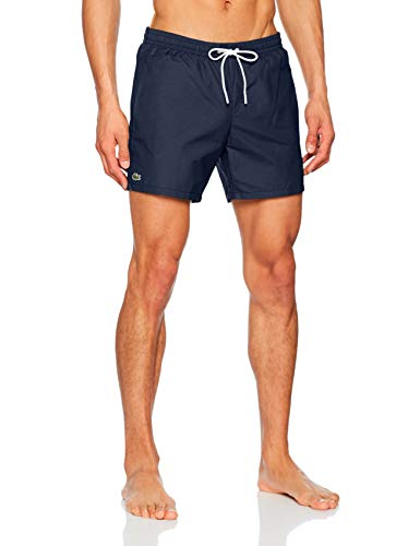 Lacoste MH7092 Short Homme Bleu (Marine/Calanque 9nx) Medium (Taille fabricant:M)