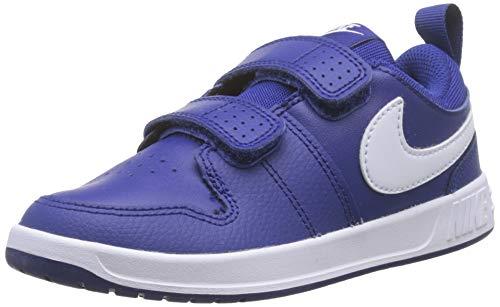 Nike Pico 5 (PSV), Chaussures de Tennis garçon, Multicolore (Deep Royal Blue/White 400), 35 EU