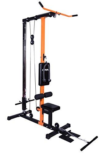 c6f3aa6e8387 SportPlus - Lat Pull Station  Appareil à Charges guidées - Musculation à la  Maison -