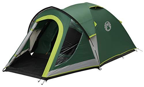Coleman Tente Kobuk Valley 4, tente de camping, toile de tente 4 personnes avec Technologie BlackOut Bedroom, tente festival, tente dôme ultra légère, tente familiale 4 places, 100% imperméable