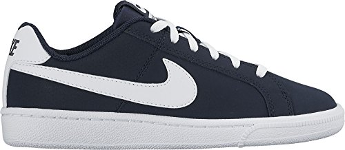 Nike Court Royale (Gs), Sneakers basses garçon, Azul (Obsidian / White), 37.5 EU