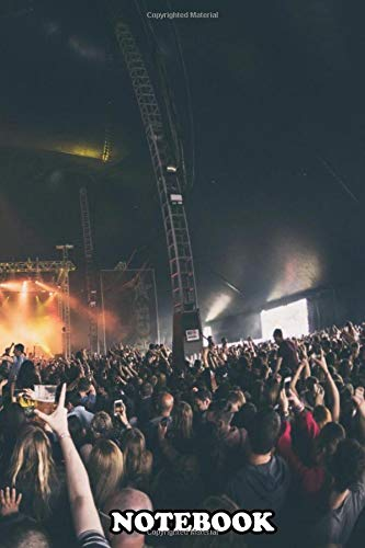 Notebook: Longitude Festival , Journal for Writing, College Ruled Size 6' x 9', 110 Pages