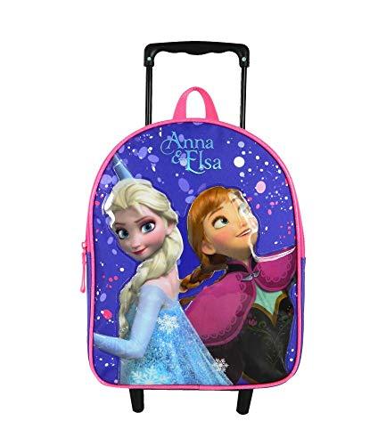 Sac à dos à roulettes 31cm La Reine des Neiges Violet Disney