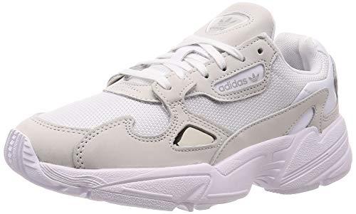 adidas Falcon W, Chaussures de Fitness Femme, Blanc (Ftwbla/Ftwbla/Balcri 000), 39 1/3 EU