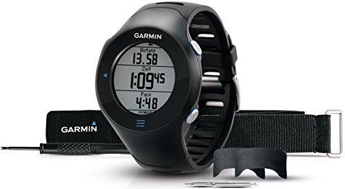 Garmin - Forerunner 610 - Montre de Running avec Cardio - Fréquencemètre et GPS Intégré - Étanche - Noir
