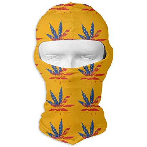 Gxdchfj Palm USA Flag Balaclava Face Mask Hood Outdoor Sport Hat for Ski,Cycling,Motorcycling,Climbing Balaclava Windproof Ski Face Mask Novelty Fashion Unisex15