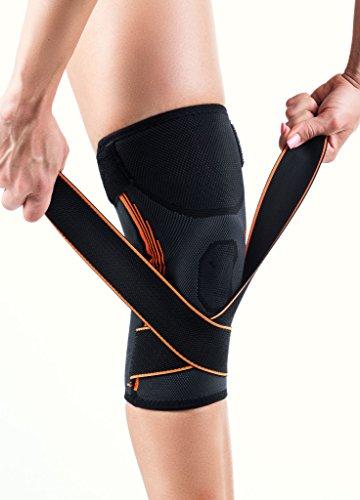 Genouillère TrueFix - Support de genou pour récupérer de blessures, de déchirures du ménisque et contre l'arthrite - Pour aider à courir et s'agenouiller