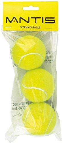 Mantis Balles de Tennis pour entraînement (Lot de 3)–Jaune